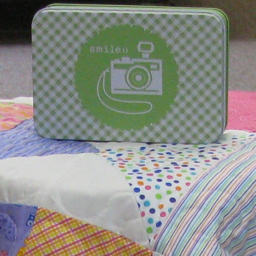 Smile Tin from Fat Quarter Shop
