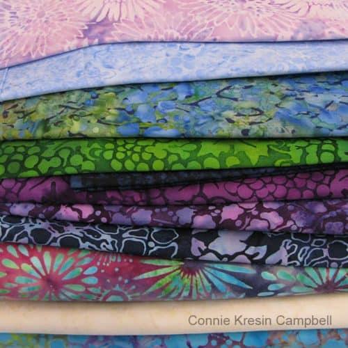 Batik quilt project