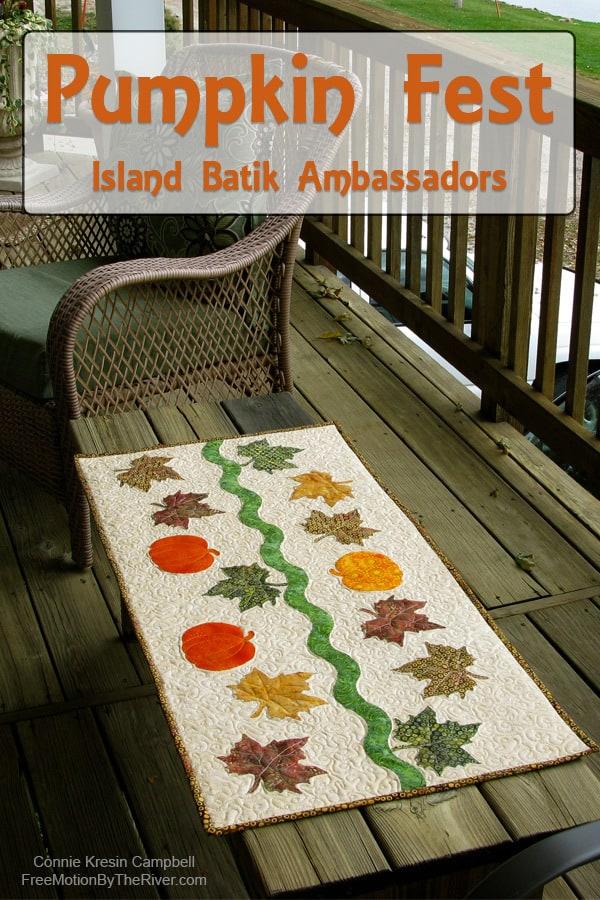 Pumpkin Fest with the Island Batik Ambassadors