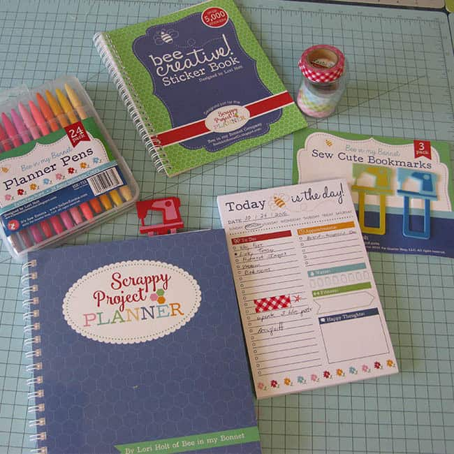 Scrappy Project Planner from Fat Quarter Shop by Lori Holt