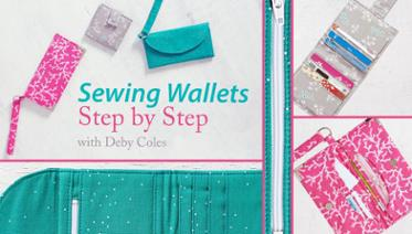 Sew Wallets step by step