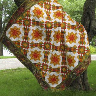 golden sunset quilt pattern