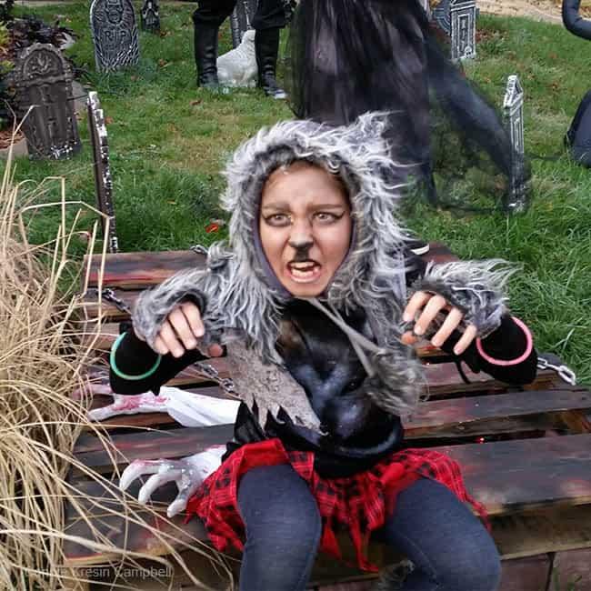 Halloween Wolf Girl