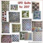 2017 Quilt UFO list
