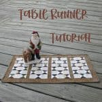Serendipity Table Runner Tutorial