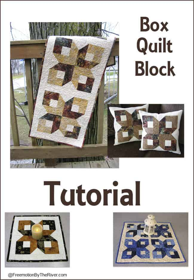 Make this easy free quilt block