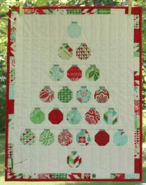 Christmas Baubles Quilt tutorial