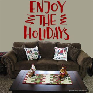 Mini Scattered Christmas Pillows