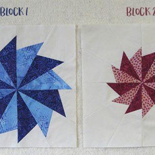 First Blush blocks 1 and 2 slides