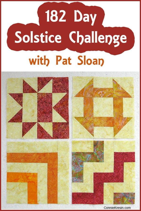 Solstice Challenge Blocks 182 Day Solstice Challenge