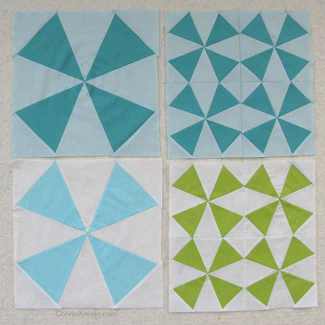 Bella Skill Builder Quilt two colorways
