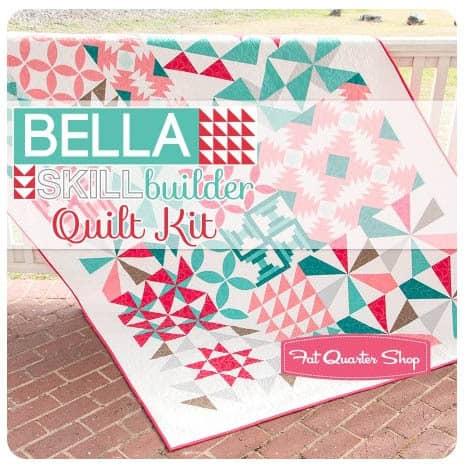 Bella Skill Builder QAL at Fat Quarter Shop