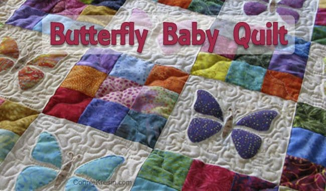 Applique Butterfly Quilt Tutorial