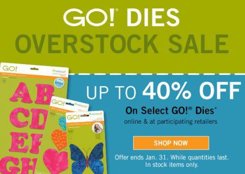 AccuQuilt Overstock sale