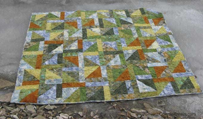 Free Quilt Pattern Lake Life