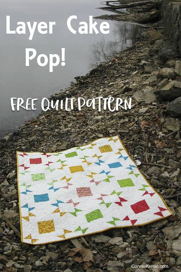 Layer Cake Pop free quilt pattern