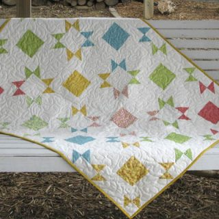 Layer Cake Pop! Free Quilt Pattern
