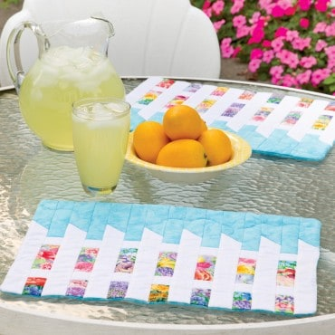 Picket Fence Placemats