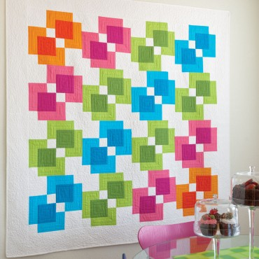 Reflections free quilt pattern