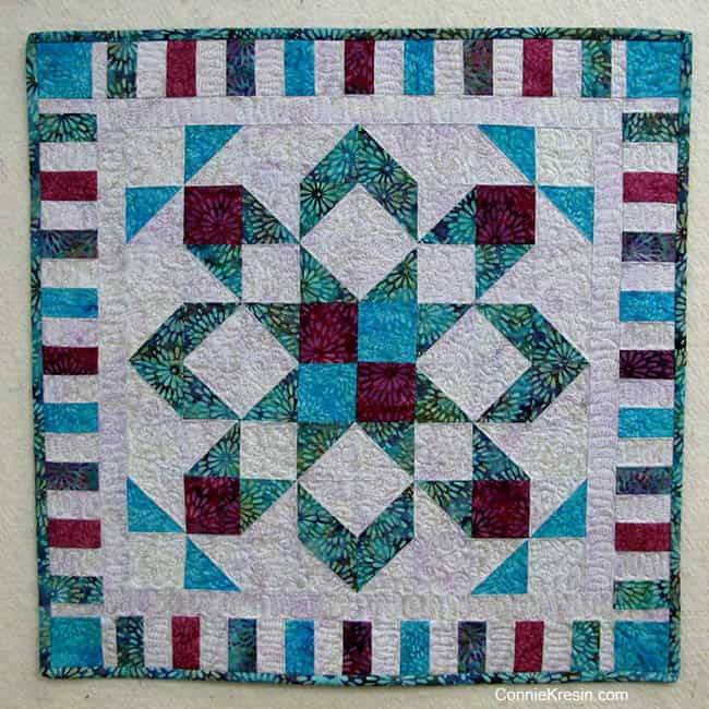 Free Star Flower Quilt Patterns : January 2017 Monthly Blog Review Freemotion by the River