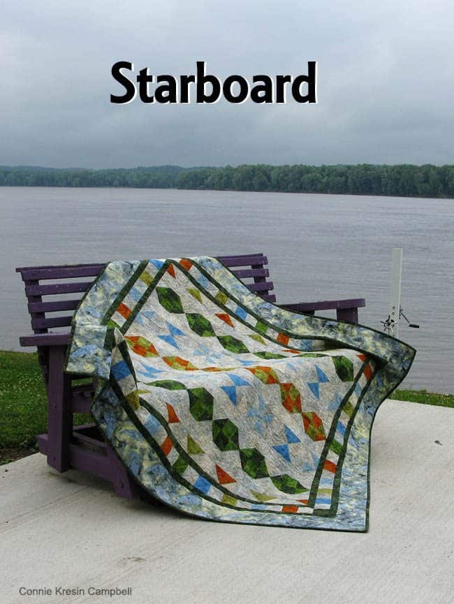 Starboard Quilt pattern Island Batik