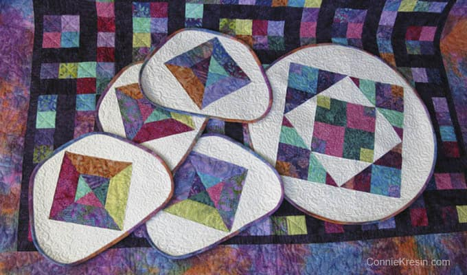 January Quilt UFO Finished!