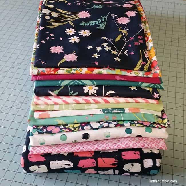 Art Gallery Fabrics Lavish for Filigree quilt