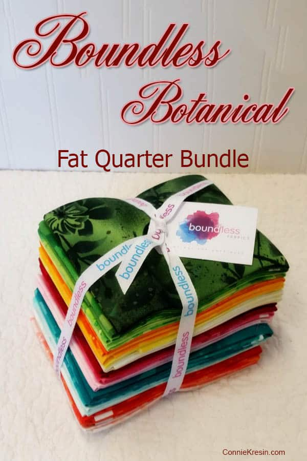 Boundless Botanical Fat Quarter Bundle