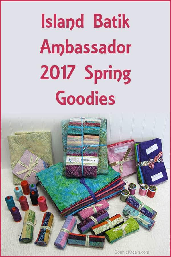 Island Batik Ambassador Goodies in Box 2017