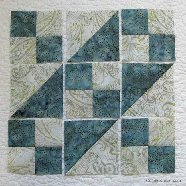 Free Quilt Pattern For Jacob S Ladder : Jacob s Ladder Free Quilt Block Pattern Freemotion by the River