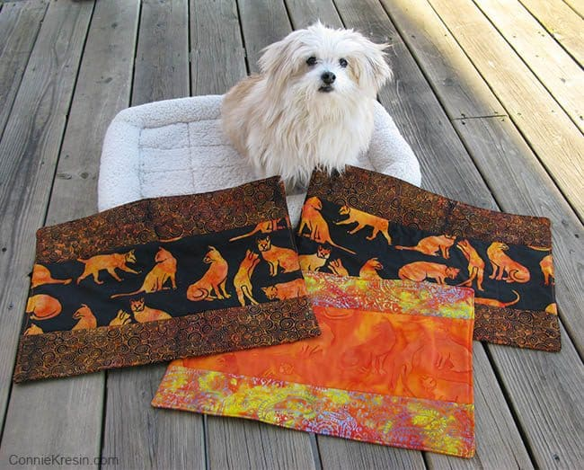 Kennel Quilts made with Island Batik fabrics