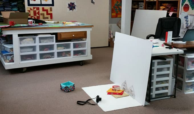 Photographing Quilt Projects and Kaffe Fassett Collective Fabrics