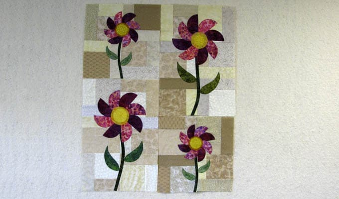 Applique Flower Blocks