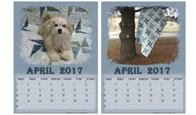 Free April Calendars