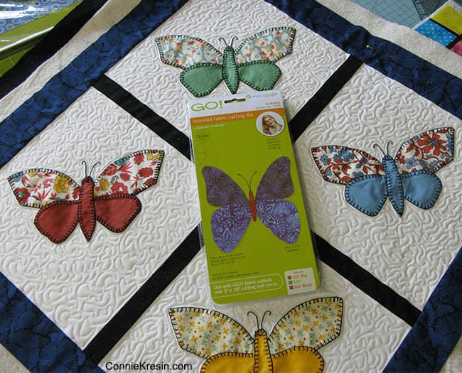 Vintage Butterfly Quilt