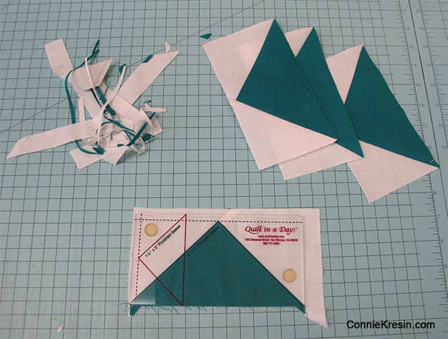 FQS Flying Geese for the Bella Skill Builder QAL