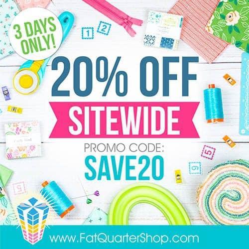 Fat Quarter Shop Sale