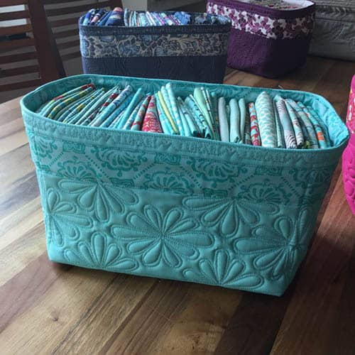 20 Free Fabric Basket Tutorials Freemotion By The River