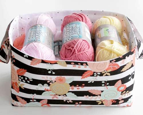 Flamingotoes-Easy-DIY-Fabric-Basket