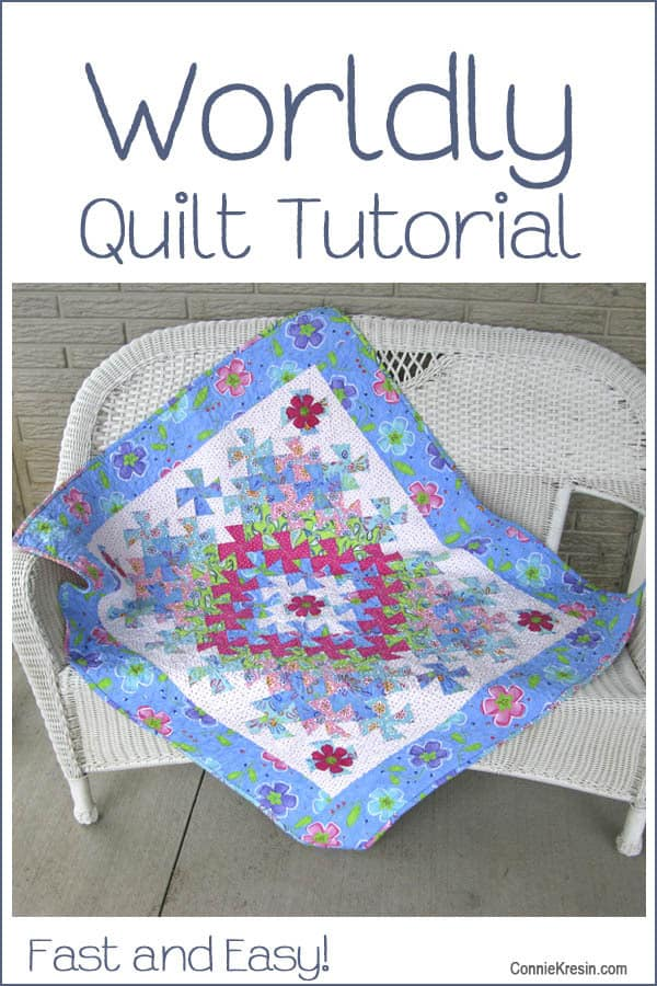 Worldly Lil Twister Quilt Tutorial Freemotion By The River