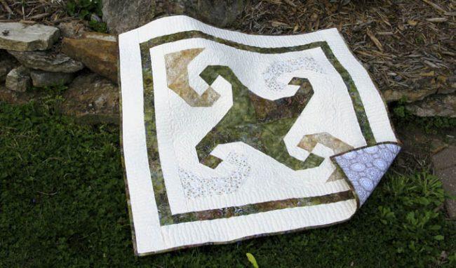 Snail Trail Classic & Vintage quilt pattern