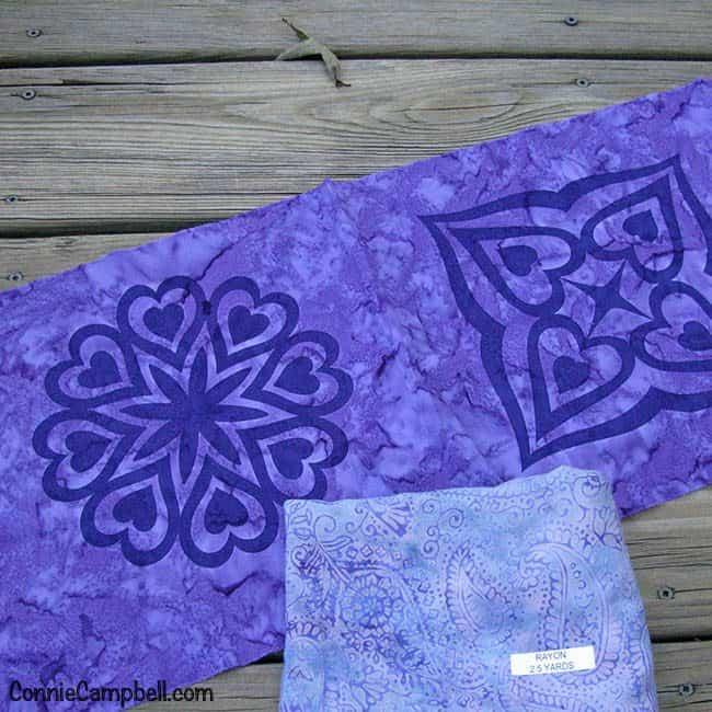 Fall Goodie Box of Island Batik Fabrics Rayon and Leah Day Print