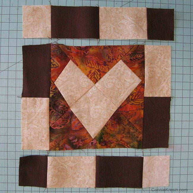 "AccuQuilt GO! Wonky Heart 6"" Die Table Topper"