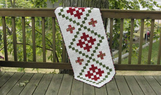 Tablerunner Bliss Quilt Along – Daybreak
