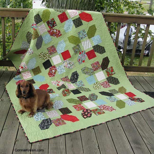 Jolly Bar Jazz QAL Free Quilt Pattern