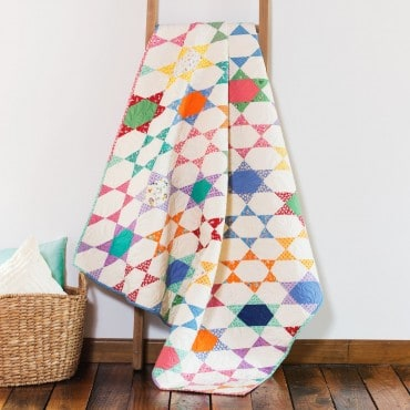 Star Illusion free Quilt pattern
