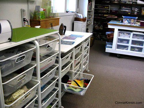 Quilt Studio storage