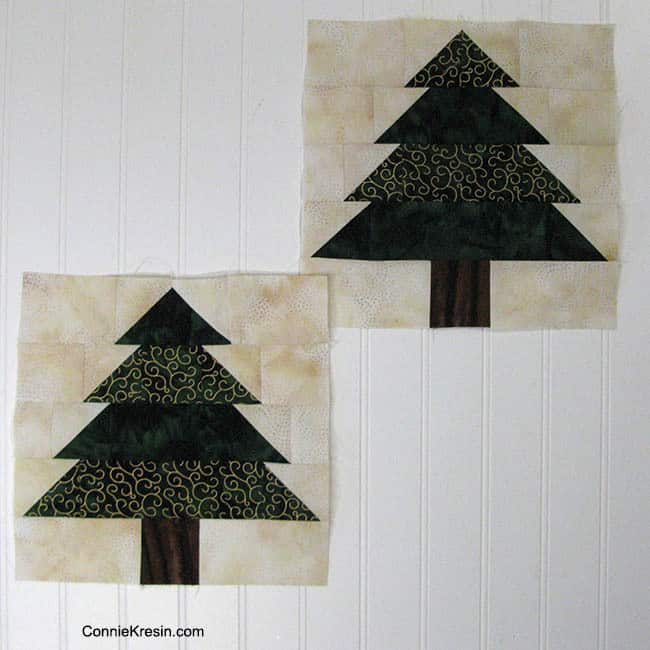 I made a couple trees.....then a few more.