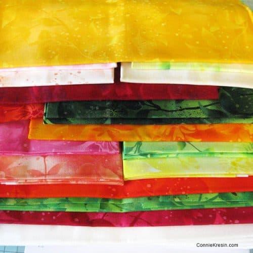 Fruit Slices quilt kit