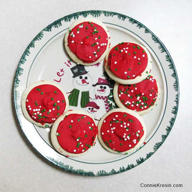Virtual Cookie Exchange Eating